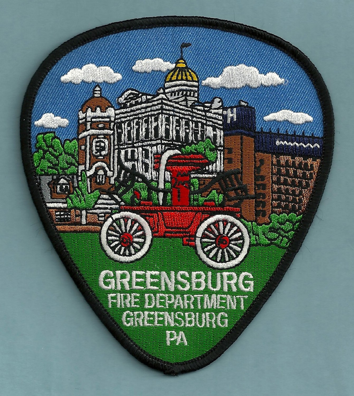 Greensburg pennsylvania fire patch for Jewelry stores in gwinnett county ga