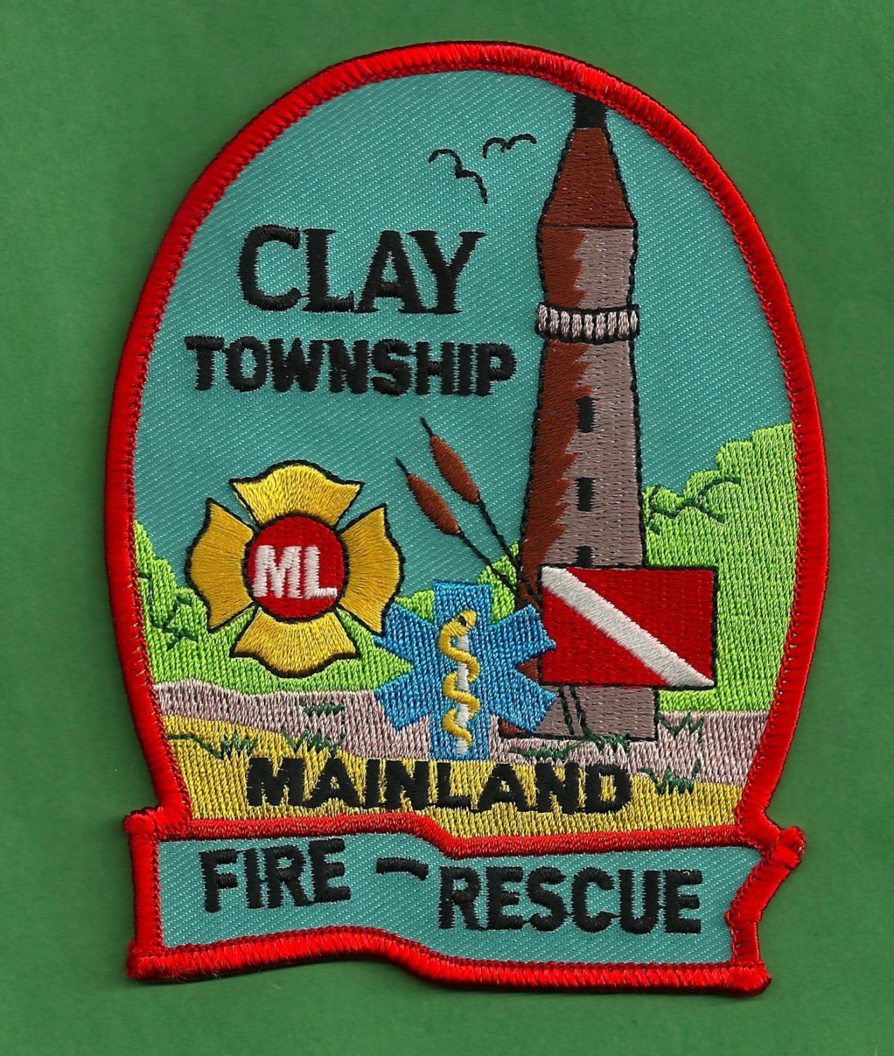 Clay township michigan fire rescue patch for Jewelry stores in gwinnett county ga
