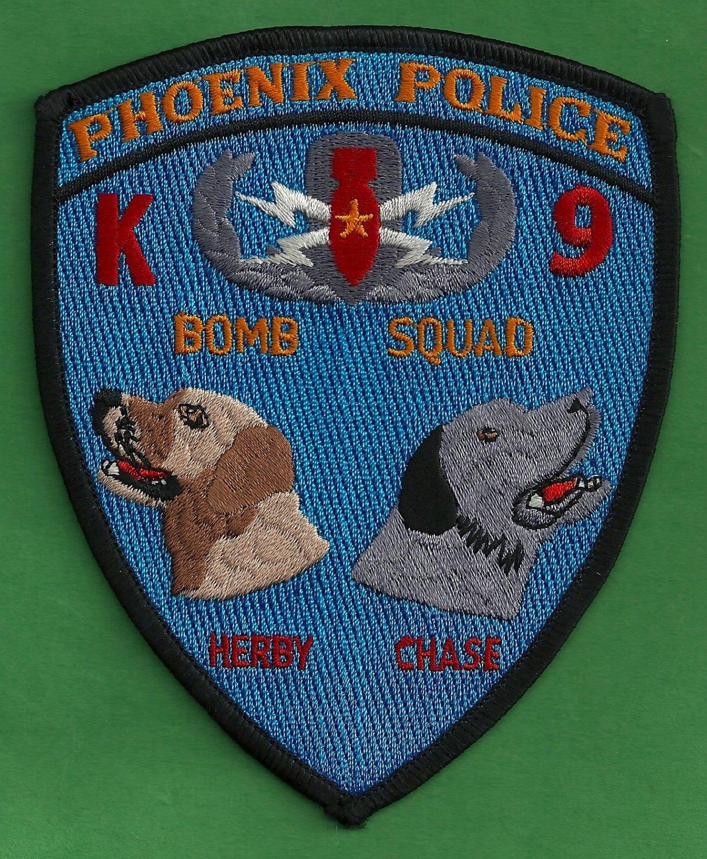 Phoenix arizona police bomb squad k 9 unit patch for Jewelry stores in gwinnett county ga
