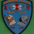 Phoenix Arizona Police Bomb Squad K-9 Unit Patch