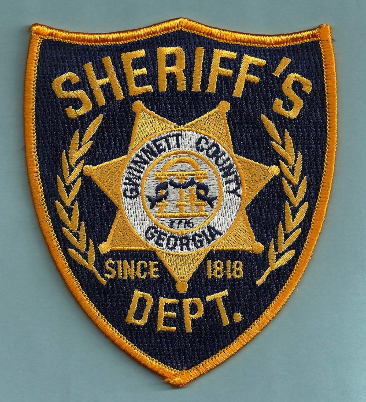 Gwinnett county sheriff georgia police patch for Jewelry stores in gwinnett county ga