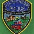 Elizabethtown Pennsylvania Police Patch