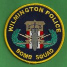 Wilmington North Carolina Police Bomb Squad Patch