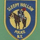 Sleepy Hollow New York Police Patch