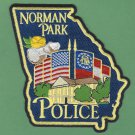 Norman Park Georgia Police Patch