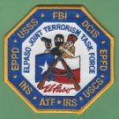 FBI El Paso Texas Joint Terrorism Task Force Patch