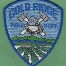 Gold Ridge California Fire Patch