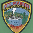 St. Maries Idaho Fire Patch