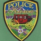 Kiowa Colorado Police Patch