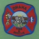 Omaha Nebraska Fire Patch