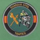Spain Guardia Civil Trafico Police Motorcycle Patch