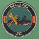 Spain Guardia Civil GEAS Dive Rescue Team Police Patch