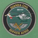Spain Guardia Civil Servicio Aereo BK-117 Helicopter Police Patch