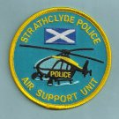 Strathclyde Scotland Police Helicopter Unit Patch