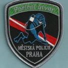Prague (Praha) Police Dive Recovery Team Patch