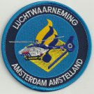 Amsterdam (Amstelland) Luchtwaarneming Police Helicopter Unit Patch