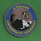 Graubuden Switzerland Police Mountain Search & Rescue Patch