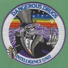 DEA Drug Enforcement Administration Dangerous Drugs Intelligence Unit Patch