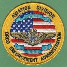DEA Drug Enforcement Administration Aviation Division Patch