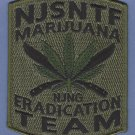 DEA New Jersey State Narcotics Task Force Police Patch