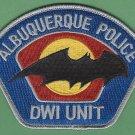 Albuquerque New Mexico Police DWI Enforcement Patch
