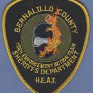 Bernalillo County Sheriff New Mexico HEAT Patch