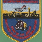 Atlanta Hartsfield Airport Fire Rescue Patch ARFF