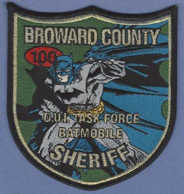 Broward County Sheriff Florida DWI Task Force Police Patch