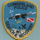 Cumberland Wisconsin Police Dive Team Patch