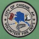 Chignik Alaska Fire Rescue Patch