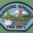 Running Springs California Fire Patch