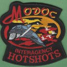 Modoc National Forest Interagency Hot Shot Crew Fire Patch