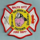 Baltimore City Fire Department Engine 55 Truck 23 Fire Company Patch