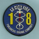 Los Angeles City Fire Department Paramedic Engine Company 18 Fire Patch