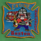 Boston Fire Department Engine Company 20 Fire Patch