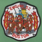 Boston Fire Department Engine Company 52 Fire Patch