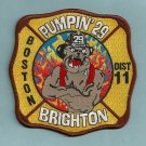 Boston Fire Department Engine Company 29 Fire Patch