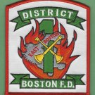 Boston Fire Department District Chief 1 Company Fire Patch