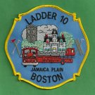 Boston Fire Department Ladder Company 10 Patch