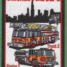 Chicago Fire Department Engine 5 Truck 2 Fire Company Patch