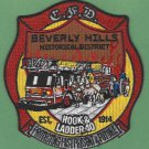 Chicago Fire Department Hook & Ladder Company 40 Patch