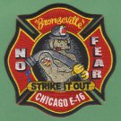 Chicago Fire Department Engine Company 16 Fire Patch
