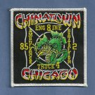 Chicago Fire Department Engine 8 Truck 4 Fire Company Patch