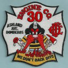 Chicago Fire Department Engine Company 30 Fire Patch