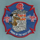 Chicago Fire Department Engine 95 Truck 26 Fire Company Patch