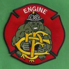 Chicago Fire Department Engine Company 38 Fire Patch