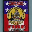 Chicago Fire Department Engine 19 Truck 11 Fire Company Patch