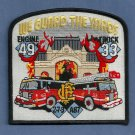 Chicago Fire Department Engine 49 Truck 33 Fire Company Patch