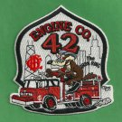 Chicago Fire Department Engine Company 42 Fire Patch