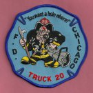 Chicago Fire Department Truck Company 20 Patch